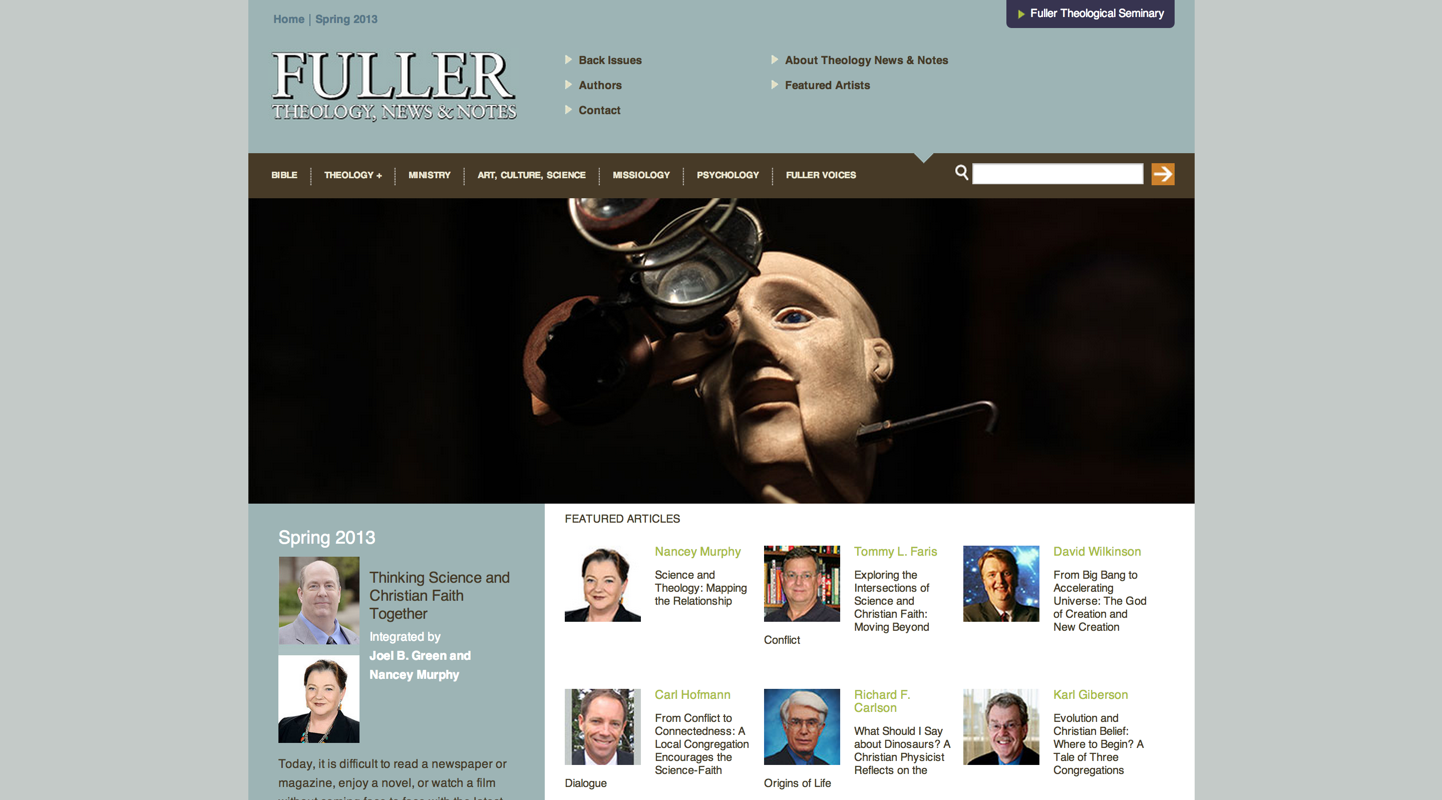 Fuller Theology, News, and Notes